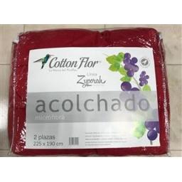 ACOLCHADO COTTON FLOR LINEA ZYPORAH 2 PL 225 X 190