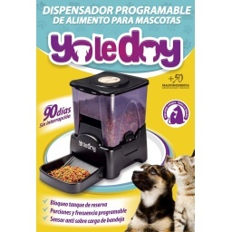 Dispensador de alimentos para mascotas YOLEDOY