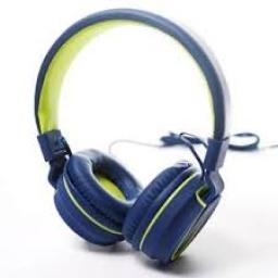 Auricular Vincha Ajustable Azul D015A