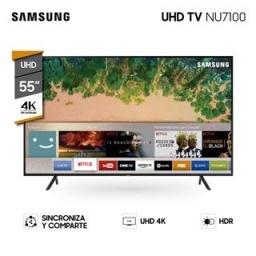 LED SMART TV SAMSUNG 55 4K UHD UN55NU7100
