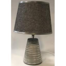LAMPARA DE MESA VOLCANICA GRIS JL 2308