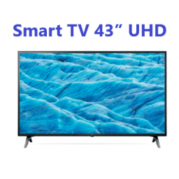 "TV LED LG SMART 4K UHD 43"" UN7300"