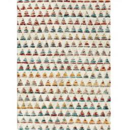 ALFOMBRA SHERPA TRIANGLES 120X170