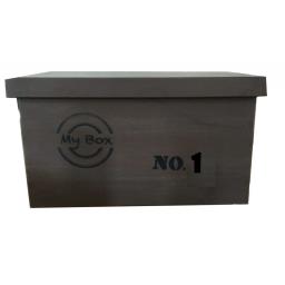 CAJA DECO con TAPA MY BOX N°1 GRANDE - CR 030