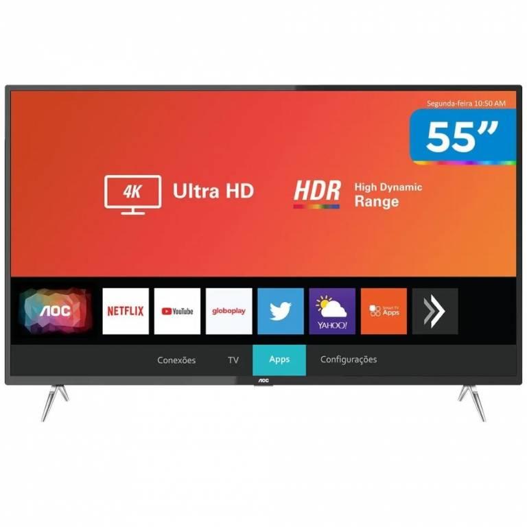 TV LED AOC SMART 55 55U629554T - KT 010XUY61