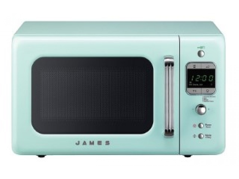 MICROONDAS JAMES RETRO J-20 AQUA
